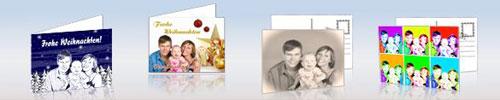 echte postkarten online verschicken weihnachtpostkarten. Black Bedroom Furniture Sets. Home Design Ideas