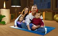 3d foto grusskarte postkarte zum ausklappen mit fotos. Black Bedroom Furniture Sets. Home Design Ideas