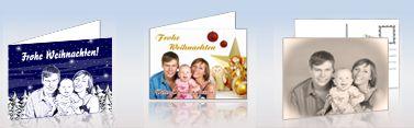 foto postkarte klappkarte weihnachtskarten mit fotos. Black Bedroom Furniture Sets. Home Design Ideas